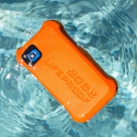Let`s Go! LifeJacket Case Water/Dirt/Snow/Shock Proof ORANGE for iPhone 5/5S
