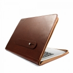 J.M.Show Thin Leather Case Brown for...