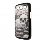 3d Effect Case Skulls for Samsung S3