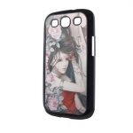 3d Effect Case Girl and flowers for...
