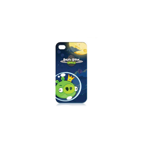 Gear4 Angry Birds Protective Case Space King Pig Green for iPhone 4/4S ...