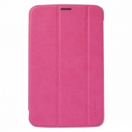 BASEUS Folio Stand Case Rose Red for...