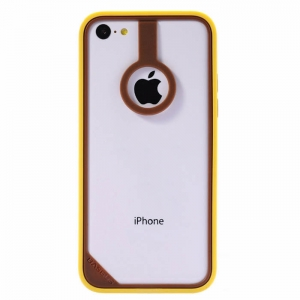 BASEUS New Age Bumper Brown/Yellow for iPhone 5C