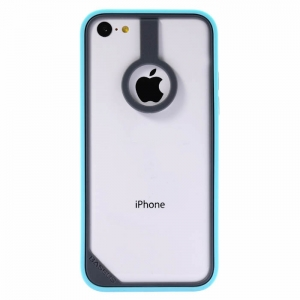 BASEUS New Age Bumper Gray/Blue for iPhone 5C
