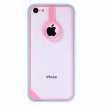 BASEUS New Age Bumper Pink/Blue for iPhone 5C