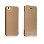 BASEUS Noble business leather case Champagne Gold for iPhone 5/5S