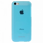 BASEUS UItra-thin Case Blue/Transparent for iPhone 5C
