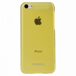 BASEUS UItra-thin Case Yellow/Transparent for iPhone 5C