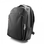 "BeeJook Nylon Compact Backpack 17"" Black"