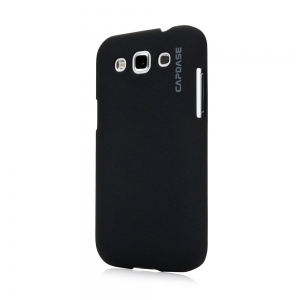 Capdase Karapace Jacket Touch Black for Samsung Galaxy Win Duos i8552 (KPSGI8552-T101)