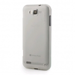 Capdase Soft Jacket Xpose Tinted White for Samsung Galaxy Ativ S i8750 (SJSGI8750-P202)