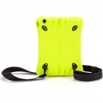 Griffin Tough Silicone Sport Case with Shoulder Strap Green for iPad mini