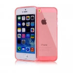 High Quality silicone case Red for iPhone 5/5S