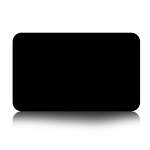 J.M.Show Love means panel overlay 2 pcs Black for Mac