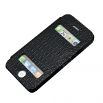 Kindtoy Booklet Leather Case Black...