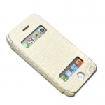 Kindtoy Booklet Leather Case White...