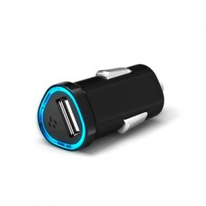 SGP Compact Car Charger Kuel P12Q/C Series Black for iPhone/iPod/iPad/Mobile (SGP08336)