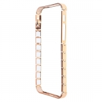 New Arrival Factory Aluminum Knuckle Bumper Gold for iPhone 5/5S