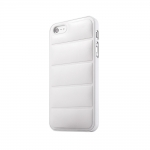 New Case Hard Case PU-Leather back White for iPhone 5/5S
