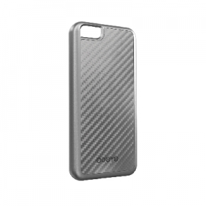 Odoyo METALSMITH Carbon Fiber LIMINOUS SILVER for iPhone 5C (PH380LS)