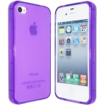 Silicon Case Purple for IPhone 4/4S