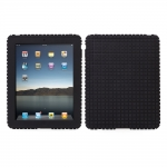 Speck PixelSkin Rubbery Black for iPad