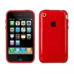 Speck SeeThru Case Red for iPhone 3G/3GS