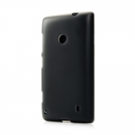 Silicon Case for Nokia Lumia 520 Black