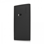 Silicon Case for Nokia Lumia 920 Black