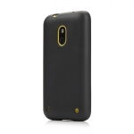 Silicon Case for Nokia Lumia 620 Black