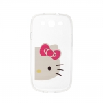Silicon Case Hello Kitty for Samsung S3