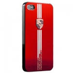 Hard Case Porsche Design Red for iPhone 5/5S
