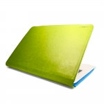 J.M.Show Thin Leather Case Green for...