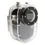 "Camcorder Sports HD DV HD 720P 1,5"" 120 degrees Waterresistant 30m Action for Driving/Outdoor/Ride/M"