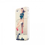 Silicon Case Girl  for IPhone 4/4S