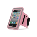 Sports Armband Waterproof neoprene Pink for iPhone 4/4S