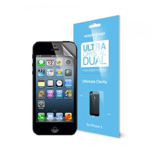 SGP Screen Protector Steinheil Ultra Dual Crystal (Front&Back) for iPhone 5/5S (SGP09594)