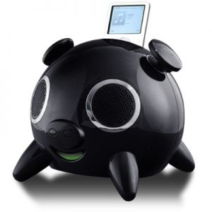 Speakal iPig Limited Black (2.1 Stereo iPod Docking Station with 5 Speakers) (IPIG-B-01-L)