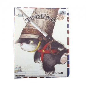 Toread Hard Case Old Military Cat for iPad 2/3/4