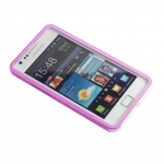 Metal bumper Pink for Samsung S2