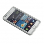 Metal bumper Silver for Samsung S2