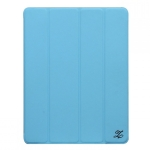 Zenus Smart Folio Cover Case Sky Blue...