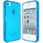 Silicon Case Blue for IPhone 4/4S